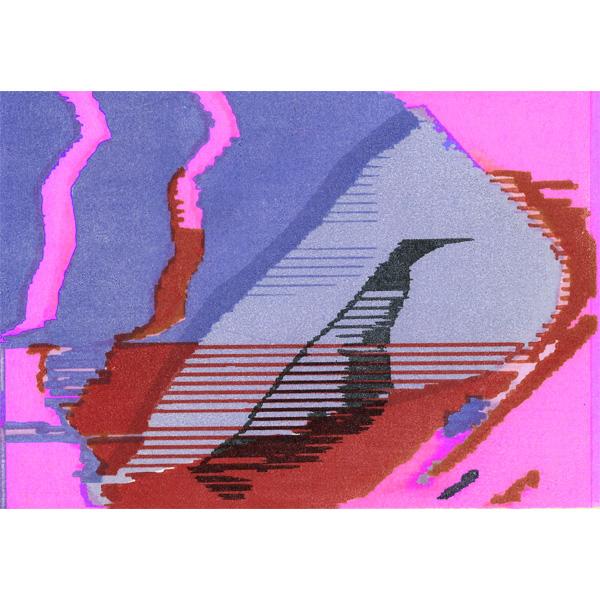 Pink - Lila - Roter Druck - Simone Caneiro