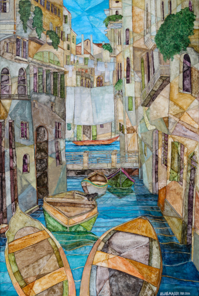 Wasserszene in Venedig