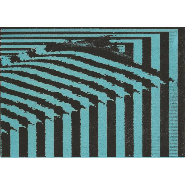 Türkis-schwarze Streifen - Simone Caneiro