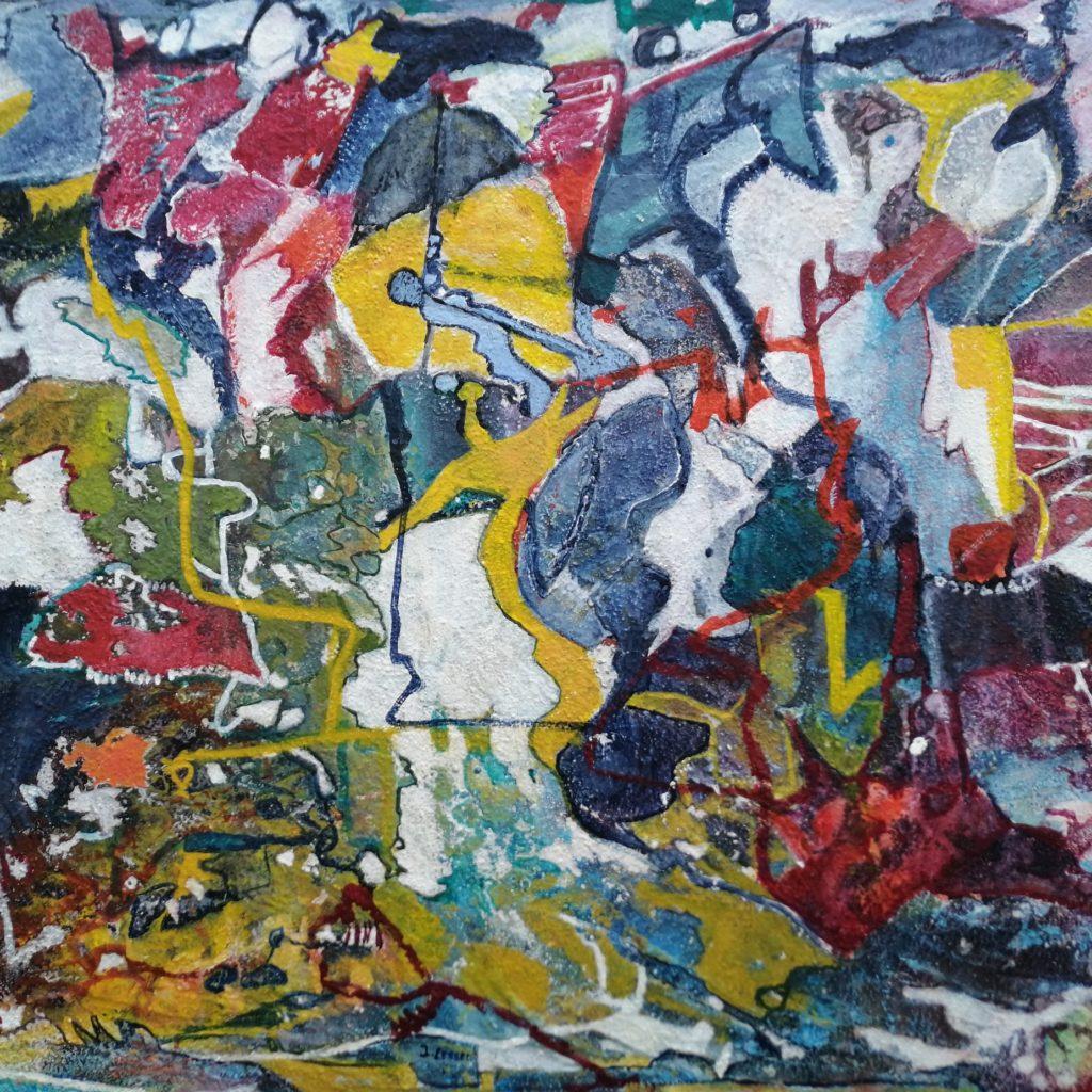 Malerei abstrakt bunt