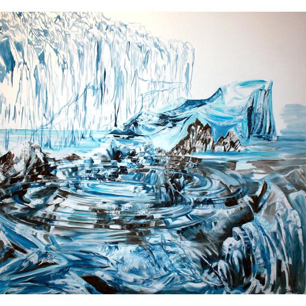 Eisberg im Wassewr
