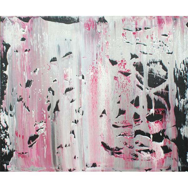 rosa-schwarz-weiß abstrakt