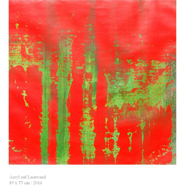 rot-grün abstrakt