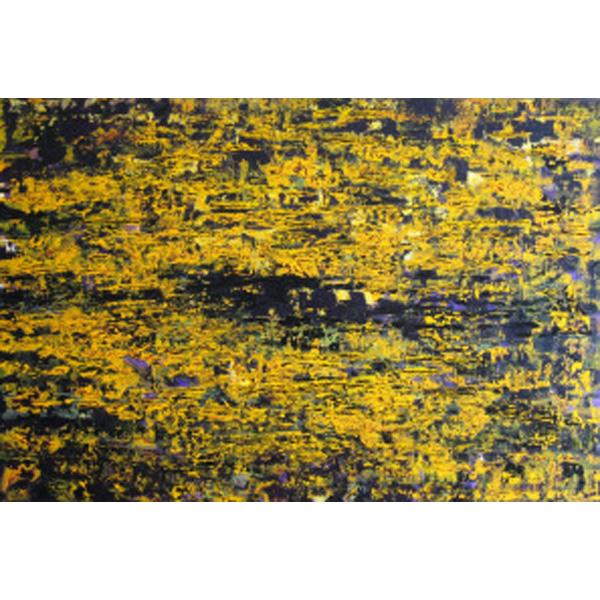 gelb-schwarz abstrakt